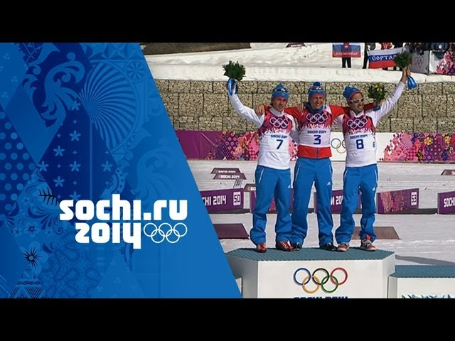 Cross-Country Skiing - Men's 50km Mass Start - Legkov Wins Gold | Sochi 2014 Winter Olympics