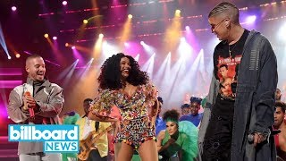 Cardi B, Bad Bunny & J Balvin May Have Had the Best AMAs Performance! Do You Agree? | Billboard News