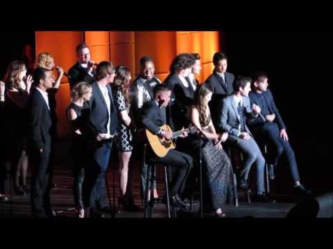 [UPDATED!] Glee Cast Tribute to Jane Lynch @ Trevor Live 12/8/13 (Full Introduction & Performance)