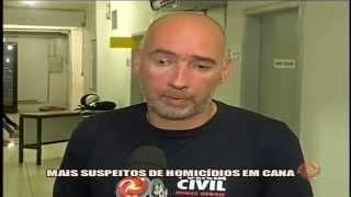Suspeitos de homic�dio s�o presos - 31/03/15