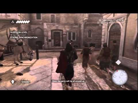 Assassin's Creed Brotherhood - Sequence 5 Memory 3 - When In Rome.....
