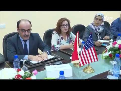 فيديو..وفد أمريكي يزور الحسيمة لهذا الأمر المهم!!