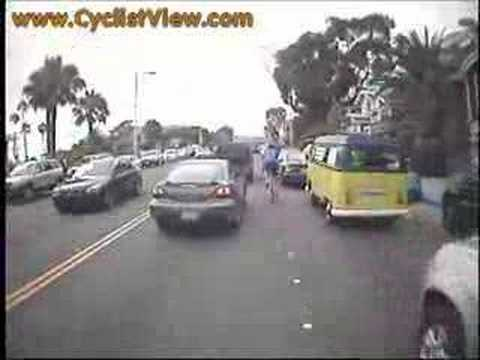 Lane Splitting in Laguna Beach, CA
