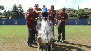 Vivo Azzurro Cam: speciale Conte Ice Bucket Challenge