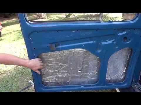 Tonella - desmontagem  e MONTAGEM da porta do fusca 01
