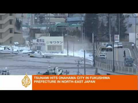 Tsunami hits sendai (japan) 11 march 2011 (story in description)