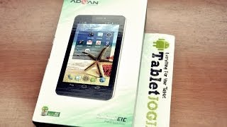 Advan E1C Tablet Vandroid 7inch Dual Core Jelly Bean