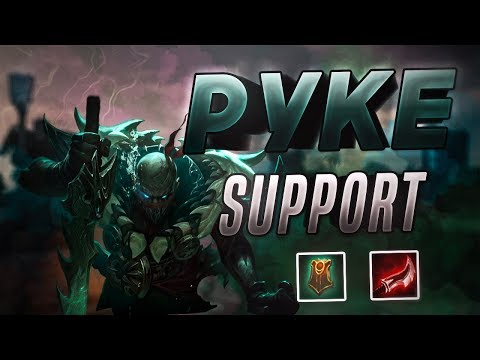 DUSKBLADE PYKE SUPPORT CARRY BUILD! Season 8 Gameplay and Commentary - League of Legends