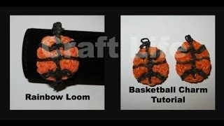 Rainbow Loom Basketball Charm Tutorial
