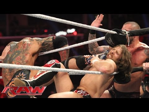 Daniel Bryan & Big Show vs. Batista & Randy Orton: Raw, March 10, 2014