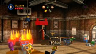 LEGO Marvel Super Heroes Tabloid Tidy Up 100% Guide (Red