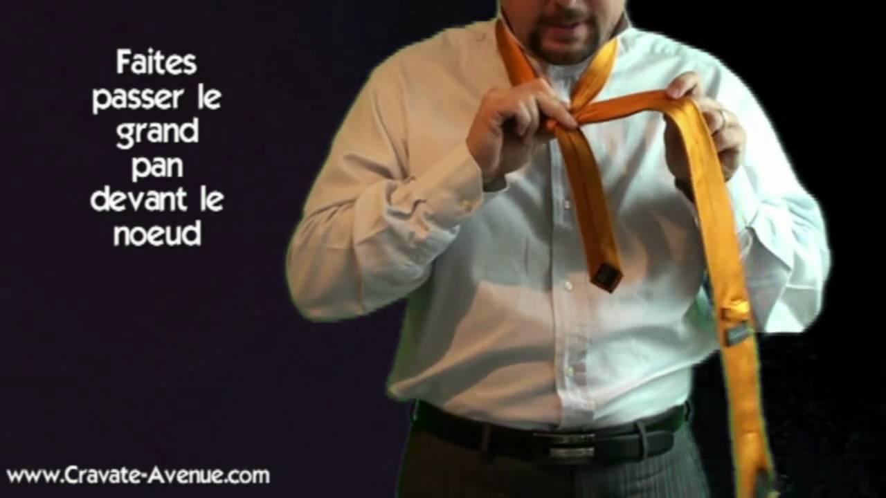 le noeud de cravate pratt comment faire un noeud de cravate youtube. Black Bedroom Furniture Sets. Home Design Ideas