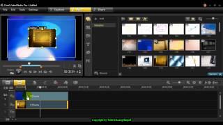 การซ้อนวิดีโอ Video Overlay