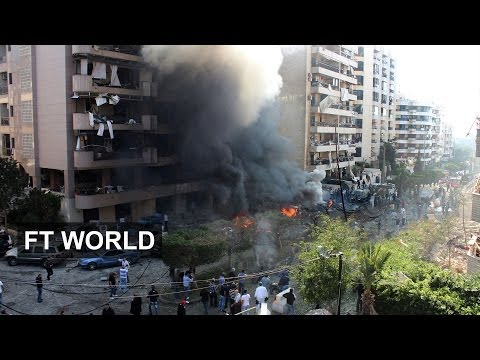Twin explosions hit Beirut