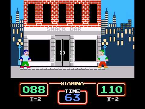 Urban Champion - NES Remix Netplay Tournament - Retroboy (P1) v thephantombrain (P2) - Round 3-2 - User video
