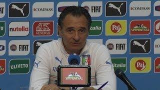 """Prandelli: """"Non sottovalutiamo i problemi difensivi"""" - Mondiali 2014"""