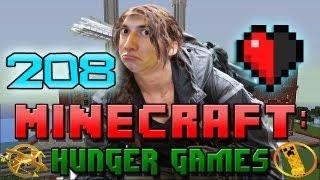 Minecraft: Hunger Games w/Mitch! Game 208 - HALF A HEART!
