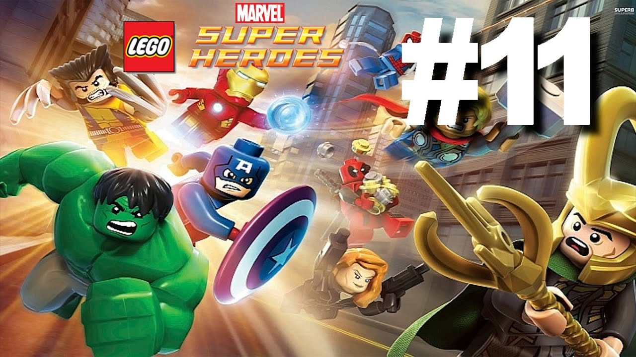 Lego Marvel Super Heroes Gameplay Walkthrough #11 - RED ...