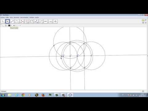 Como hacer un pentagono con GeoGebra