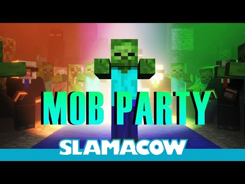 Minecraft Mob Dance Party - Animation, Twitter-- http://bit.ly/IphVW2 Facebook-- http://on.fb.me/Iix1QB The party animals are back! Hurray for recycling animations! ...And by recycling I mean usin...