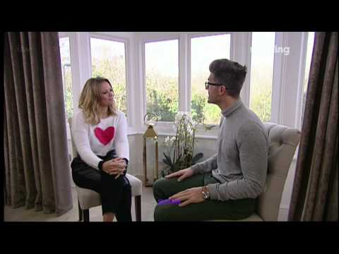 Kimberley Walsh - This Morning Interview on her wardrobe - 15 Jan 14