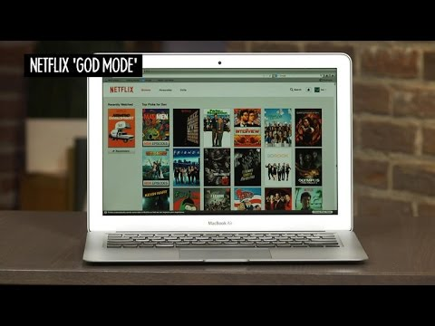 CNET How To - Enable 'God Mode' for better Netflix browsing