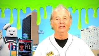 Bill Murray Channels Harry Carey for Ghostbusters Night