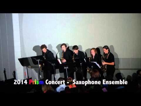CCHS 2014 Prism Concert Saxophone Ensemble