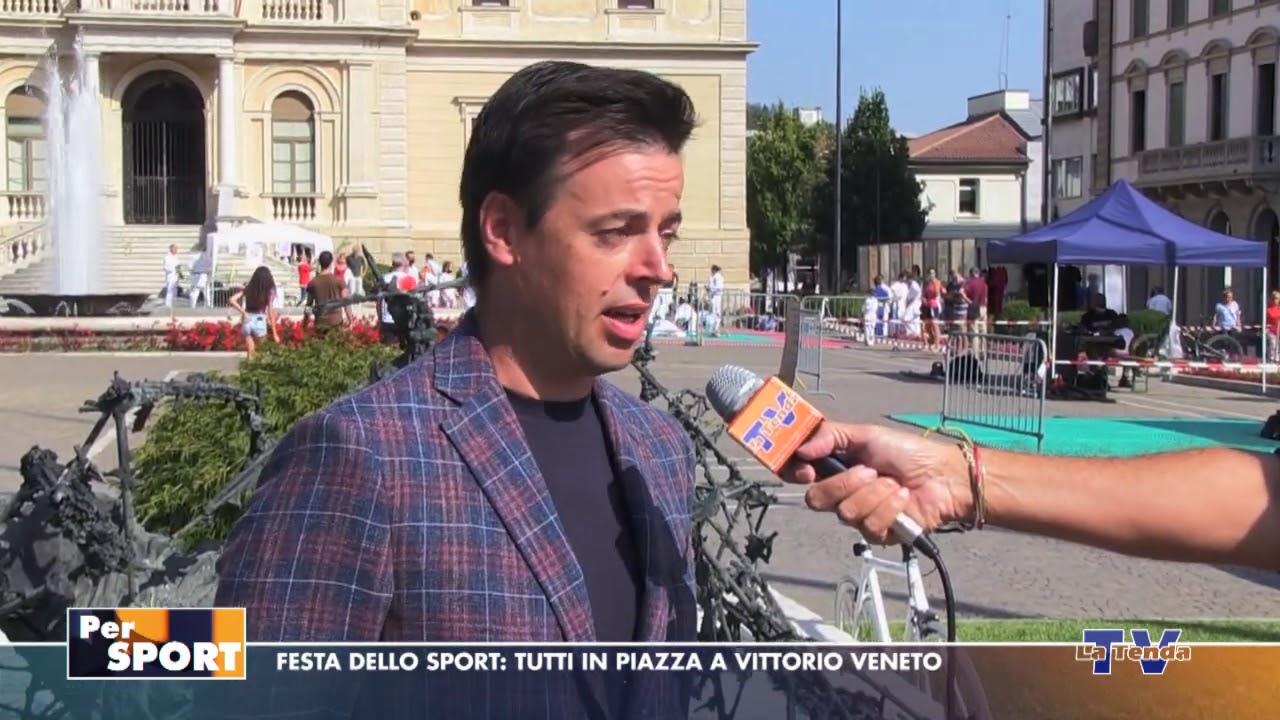 Per Sport - Festa dello sport: tutti in piazza a Vittorio Veneto