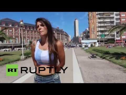 Argentina: Fiorella Castillo, super model with soccer skills to boot