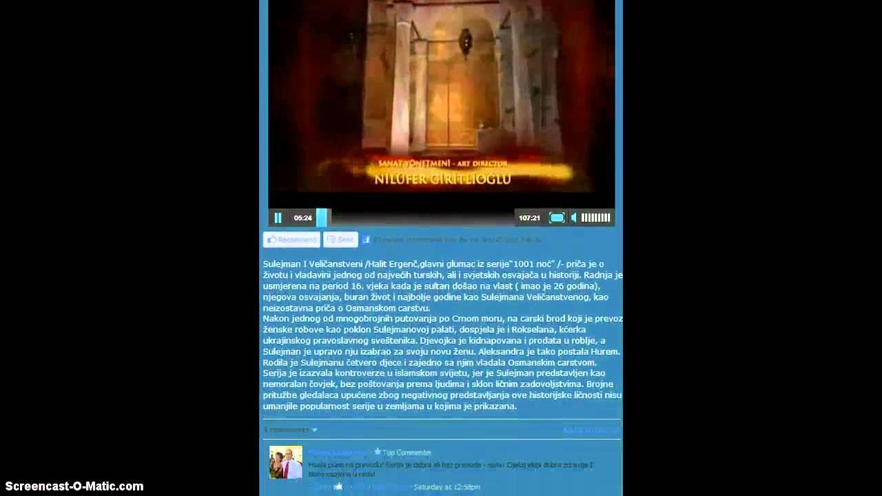 Sulejman Velicanstveni Sve Epizode