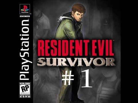 Resident Evil Survivor (PS1) Walkthrough part 1.