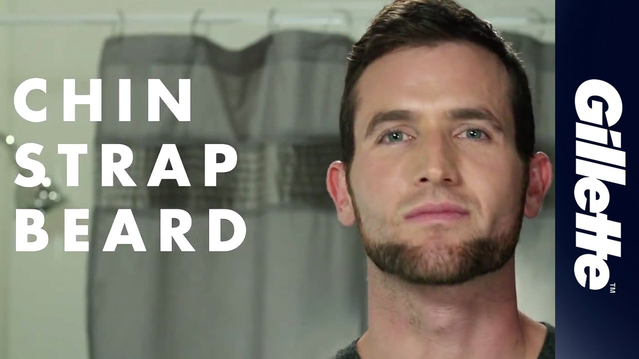 gillette shaving guide how to shave the chin strap beard youtube. Black Bedroom Furniture Sets. Home Design Ideas