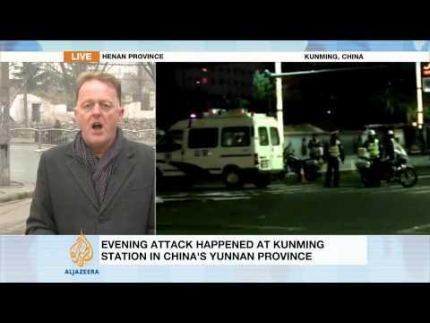 Dozens killed in China stabbing spree