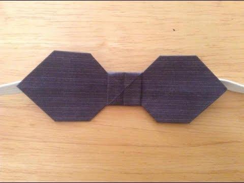 Aprende a hacer una corbata de papel!!