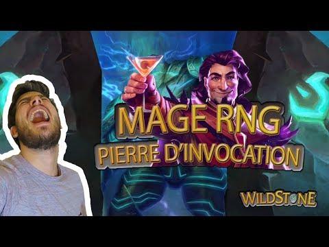 MAGE RNG : PIERRE D'INVOCATION DE LA JUNGLE [Wild] [Fr] [Hearthstone]