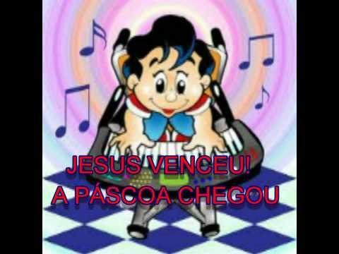 PÁSCOA - JESUS RESSUSCITOU ! CLIPE INFANTIL -MÚSICA DA TIA CRIS -MOMENTO DA CRIANÇA