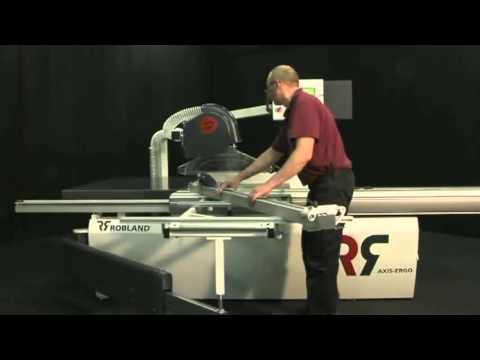Máy cưa bàn trượt của Bỉ Robland Z 3200 - URI Company - Máy móc và dao cụ chế biến gỗ