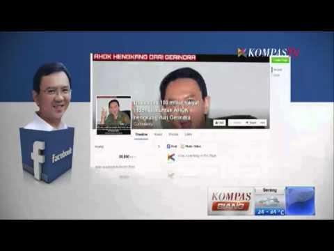 Pro Kontra Pengunduran Diri Ahok Dari Gerindra - Kompas Siang 12 September 2014