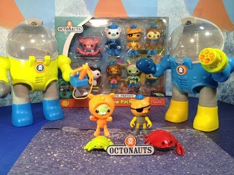 Disney Junior Octonaute Octo Crew Pack Disney Jr Octonauts Toy