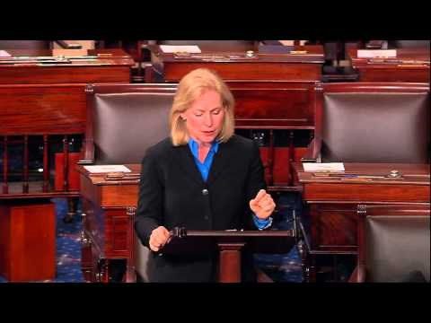 Gillibrand Calls for End to Obstruction of Military Justice Bill