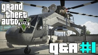 GTA 5 ONLINE: SKYLIFT HELICOPTER, SKIMMER PLANE & RENT