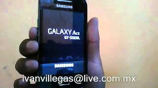 Desbloqueo De Samsung Galaxy Ace