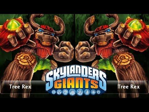 SKYLANDERS GIANTS - TREE REX VS. TREE REX (VERSUS)