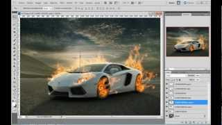 TUTORIAL: Como Poner Fuego En Una Imagen En Photoshop Cs5