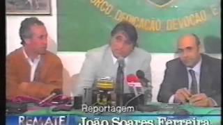 Reportagem sobre a saída de Marinho Peres do Sporting em 1991/1992