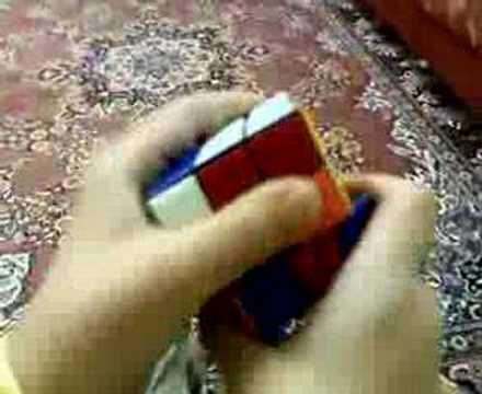 Rubik (Sabır-Zeka-Sinir) Küpü Çözümü-Yarkın Poyraz