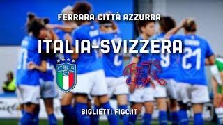 Ferrara Città Azzurra per Italia-Svizzera