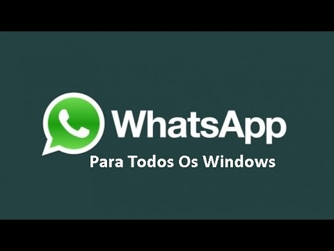 Como Baixar E Instalar WhatsApp No Windows (xp,7,8,8.1)
