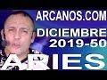 Video Horóscopo Semanal ARIES  del 8 al 14 Diciembre 2019 (Semana 2019-50) (Lectura del Tarot)